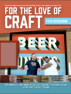 Lançamento Filme For The Love Of Craft